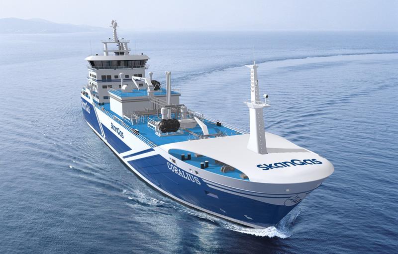 "LNG newbuilding signed ""Coralius"" – Sirius Shipping"